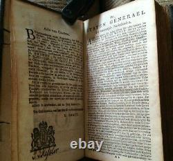 Antique 1778 Dutch Leather BIBLE with Silver Clasp THE NEW TESTAMENT Dordrecht