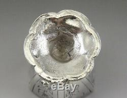 Antique 17th 18th Century Dutch Silver Miniature Chalice or Goblet 2 1/8