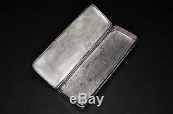 Antique Dutch Silver Box, Possibly for Eye Glasses, Hallmarked for 1838