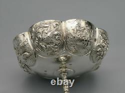 Antique Dutch Solid Silver Dishes c1900
