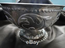 Dutch Bowl Sterling Silver Circa 1880 Marked, Antique, Top Quality