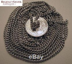 Dutch East Indies Straits Chinese Peranakan SILVER Coin Chain Belt Wilhelmina