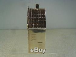Dutch House Solid Silver Novelty Box, Chester Import 1904