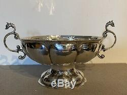 GRONINGEN Early 17th century Dutch silver brandy bowl alliance coat of arms