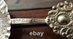 Interesting Collection Of 7 Old German Dutch Silver Spoons Ect Free USA Ship