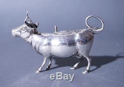 Magnificent Dutch or German Silver Cow Creamer 19th century high quality
