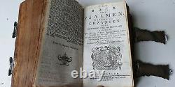 Old & rare Bible with amazing silverwork with Evangelists, Mozes and Aäron, 1809