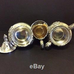 REAL Dutch Auction! 7pc KING FRANCIS Tea/Coffee Svc withTray/Waste/Water Pitcher