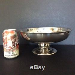 REAL Dutch Auction! Pre-1959 29+oz STERLING Footed BOWL Quaker Silver Co