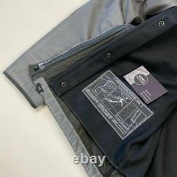 Stone Island Antiqued Reflective Dutch Rope Jacket Silver L