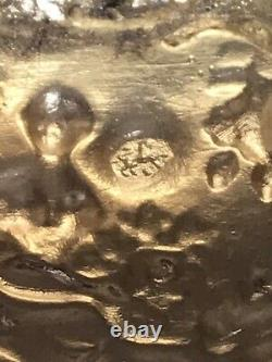 Superb Antique 1819 Dutch Silver Snuff Box, Cover And Base Beautifully Decorated