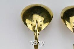 Two Dutch Silver Rat Tail Fig Shaped Spoons With Nude Bust 17th Century