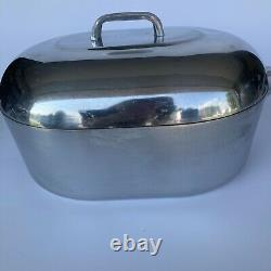 Wagner Ware Magnalite GHC with Lid Trivet 12qt Roaster USA Made Dutch Oven