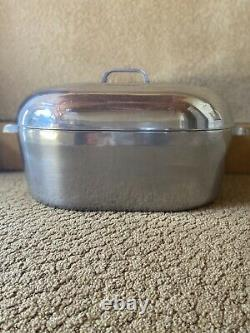 Wagner Ware Magnalite Sidney 0 Roaster 4269 Aluminum Dutch Oven Oval 17 Qt W Lid